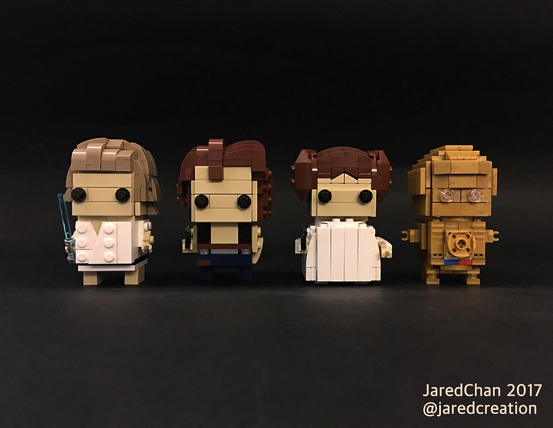 Star Wars Brickheadz (2017)