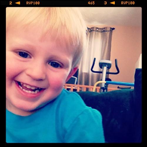 My little friend, Owen. ^___^ by rachelzsmiley