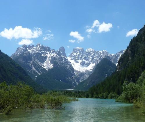 Dürrensee / Lago di Landro with Monte Cristallo / Cristallino d'Ampezzo, Toblach, Südtirol, Italien / Italy by Loeffle