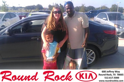 Thank you to Natalie Therkelsen on the 2011 Kia Optima from Fernando Fernandez and everyone at Round Rock Kia! by RoundRockKia