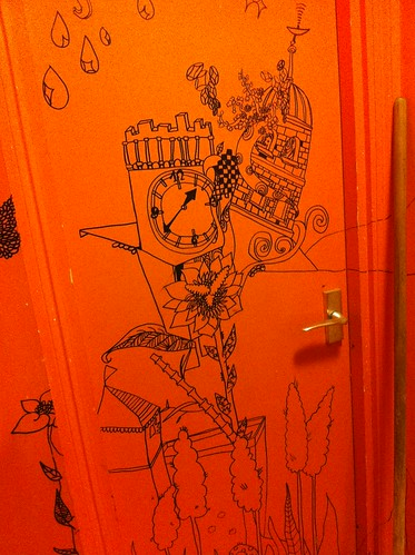IMG_6078_loo_doodles at Bibimbab Cafe