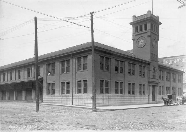 Queen And Crescent Freight Depot - Cincinnati, OH