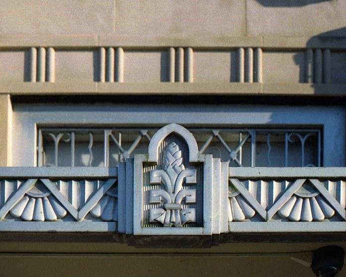 Bank Building Detail