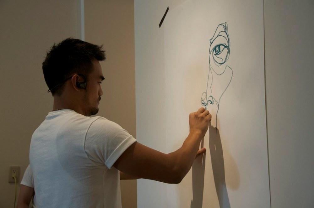 「張貼塗鴉」林俊良繪圖計劃 STIGRAFFITI:LIN JUN-LIANG「DRAWING & PAINTING PLAN」