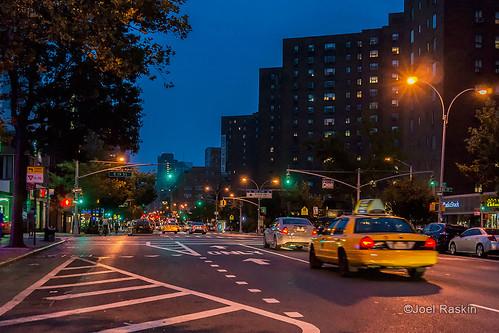 First Ave Evening Scene by Joel Raskin