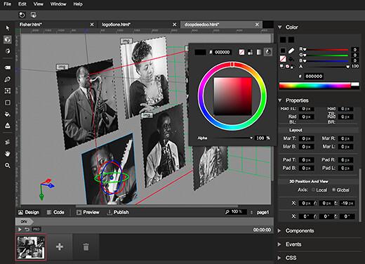 google-web-designer-screenshot-1