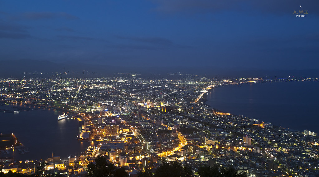 Night View of Hakodate