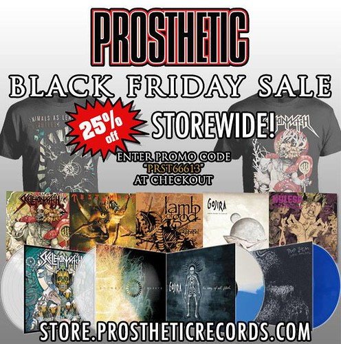 Prosthetic Records Black Friday Sale