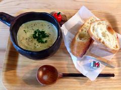 じゃがいもとチーズのスープ
