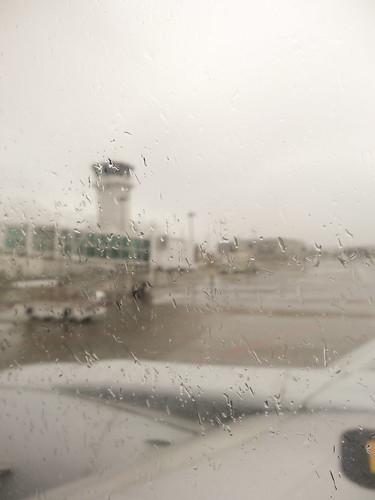 石垣島は雨