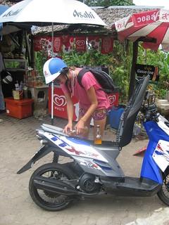 Petrol stop!