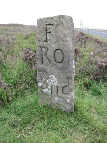 Farndale Roadmens stone.