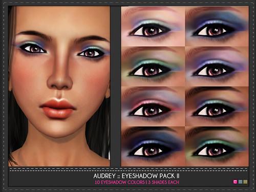 Audrey Eye Shadow Pack II