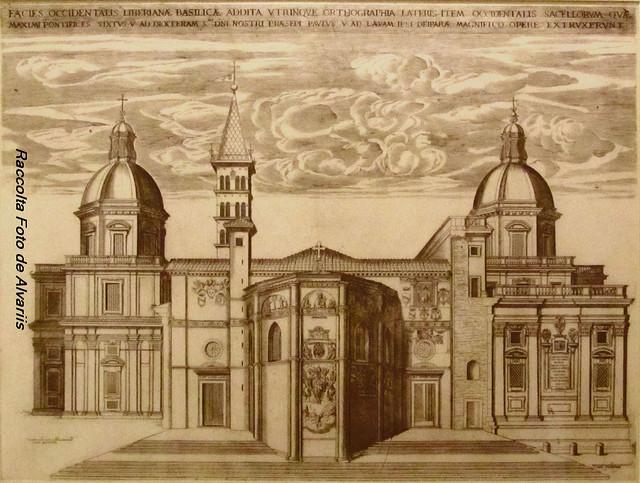 2013 S. Maria Maggiore 1625 Facies Occidentalis Liberiana Basilica