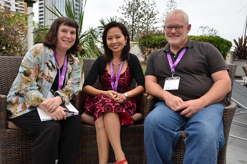 With Beth Kanter and John Kenyon