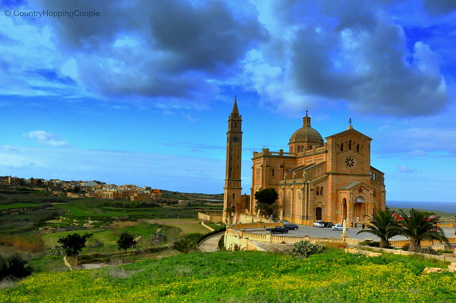 Ta' Pinu Basilica in Gozo Island Malta