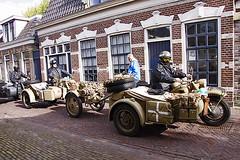 BMW R75 1941& Zündapp KS750 1944 (4338-a)