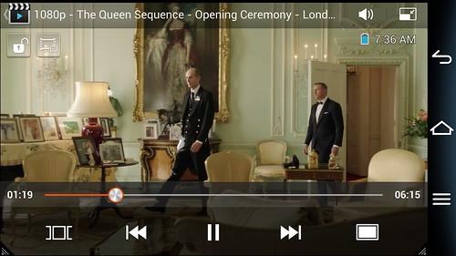 การดูคลิปวิดีโอ 1080p บน Pantech Vega IM-A860