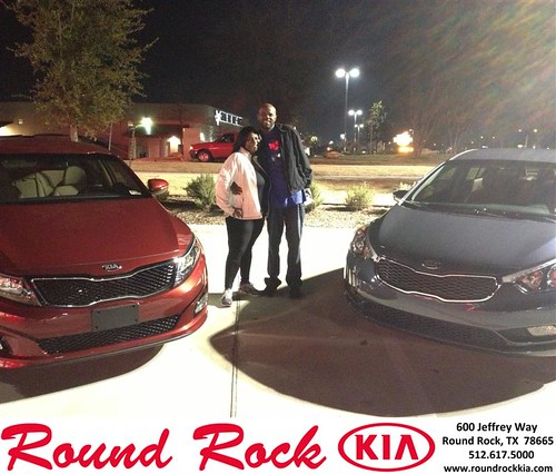 Thank you to Debra Taylor on your new 2014 #Kia #Optima from Derek Martinez and everyone at Round Rock Kia! #NewCarSmell by RoundRockKia