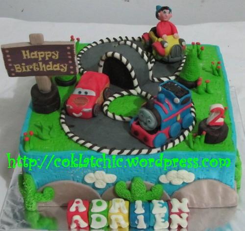 Cake Cars, Thomas dan Noddy