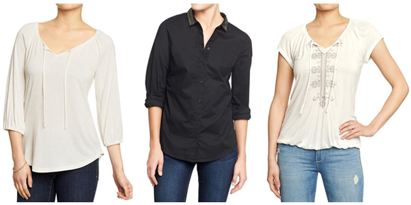 old navy women's shirts
