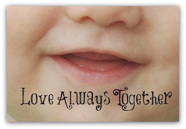 Fridge Wisdom Love Always Together