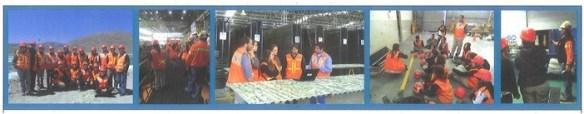 Estudiantes de Geología Minera de la UBA visitaron Minera Alumbrera