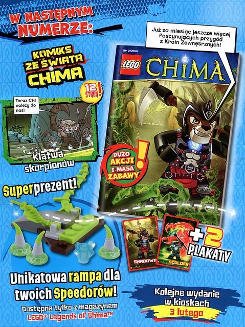 LEGO Legends of Chima Oficjalny Magazyn 2014-01 02
