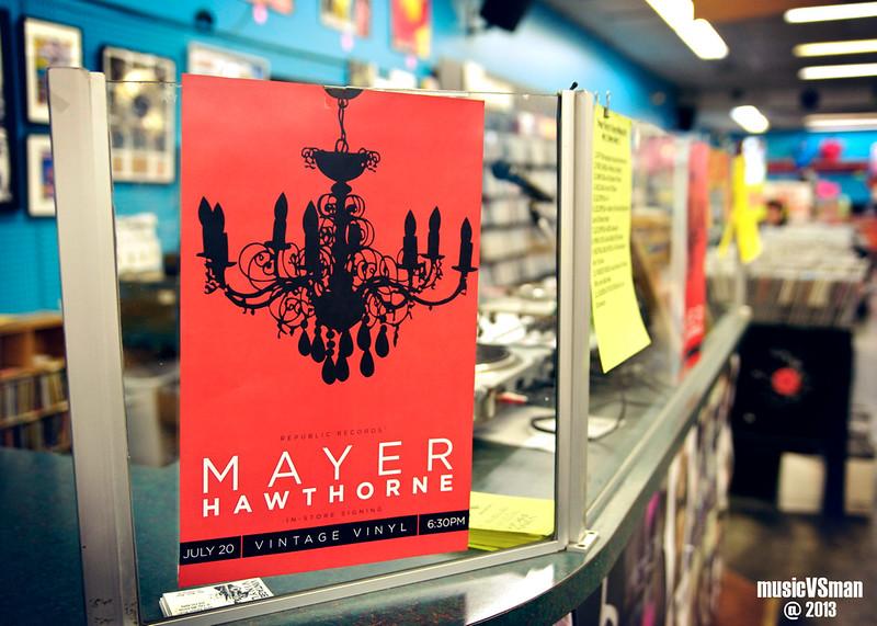 Mayer Hawthorne @ Vintage Vinyl