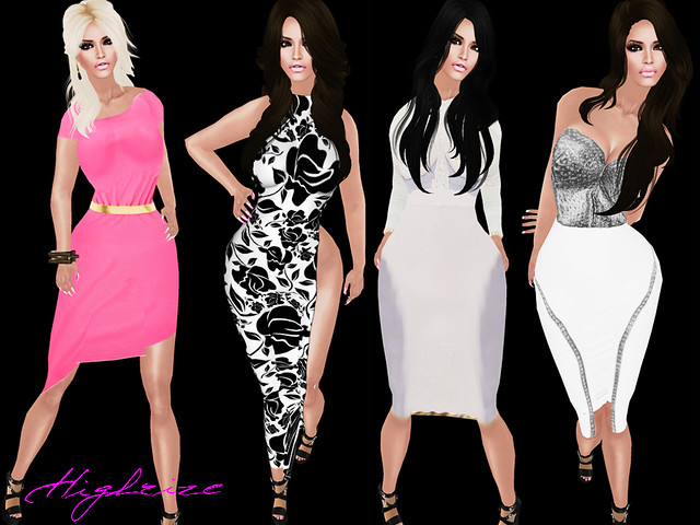 FASHION FEATURE: HIGHRIZE 2.0 DRESSES AVAILABLE NOW AT FI FRIDAY !