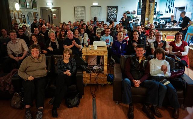 Janapar audience in Newcastle