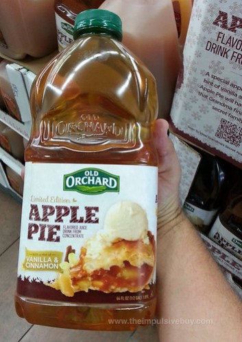 Limited Edition Old Orchard Apple Pie Juice
