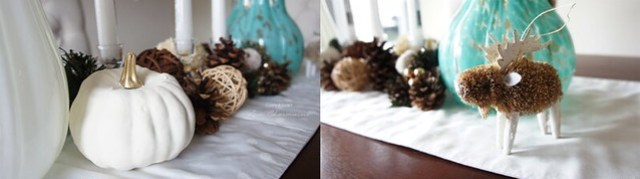 Thanksgiving Dining Table Decor