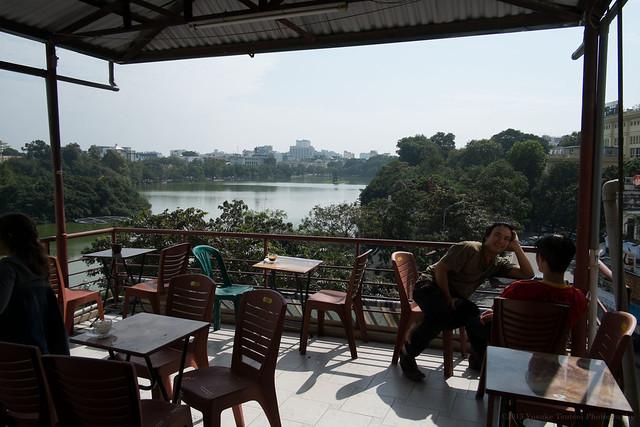 Lake View Cafe, Hanoi, Vietam