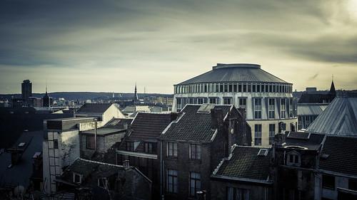 The Divided City (la Cité divisée) - Liège, Belgique - Photo : Gilderic