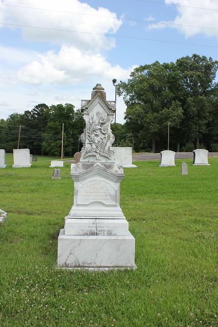 Mary Kelley Monument, Utica Cemetery, Utica MS