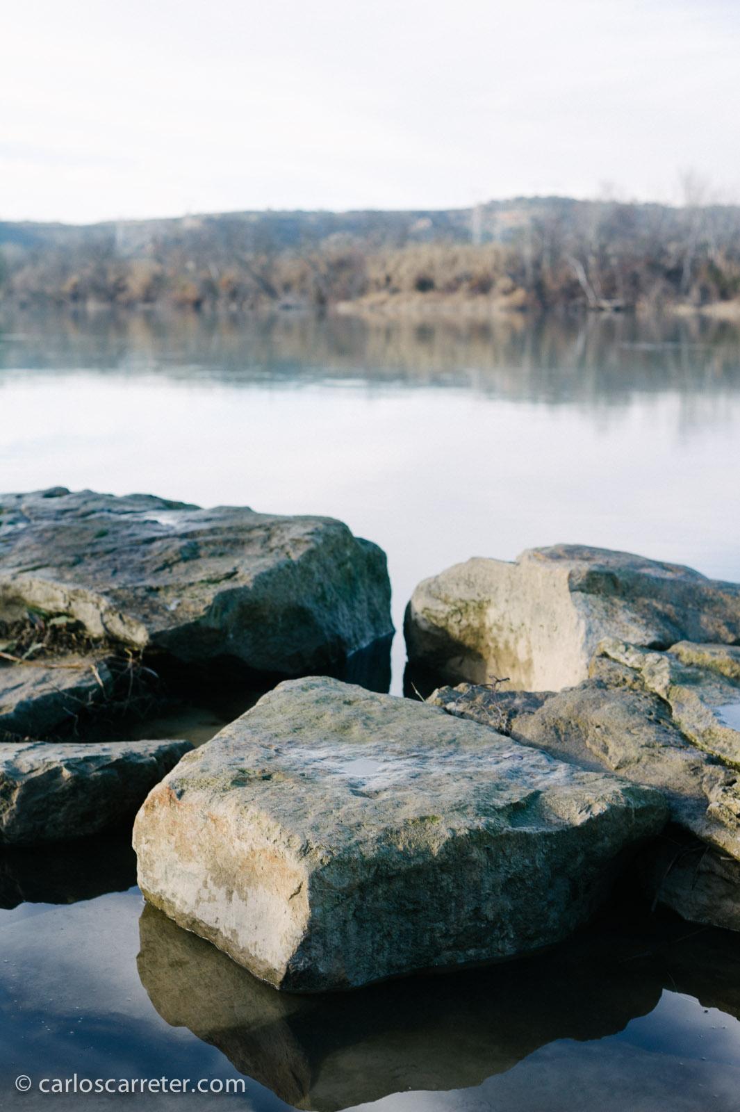 Río Ebro en Escatrón