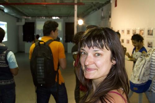 Project coordinator Kathryn Sclavi
