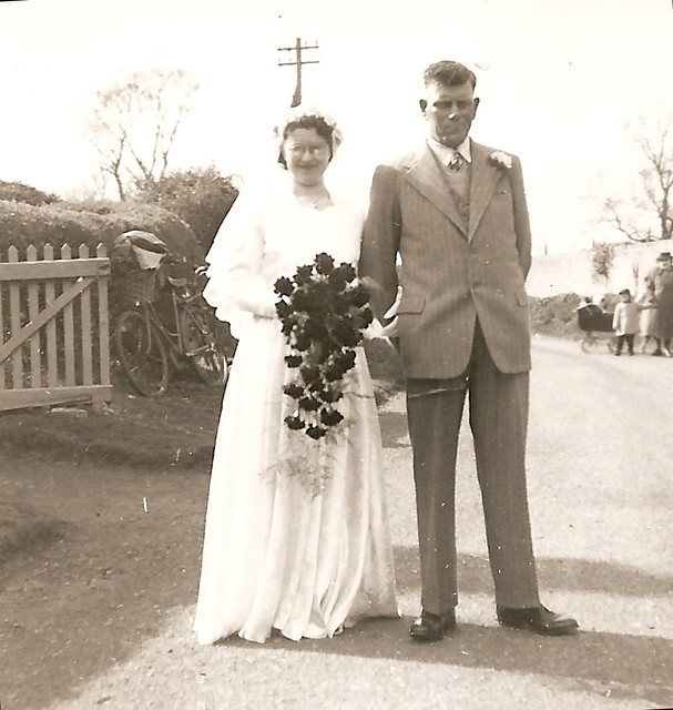 Pamela and father Ernest Herbert Barber 1953