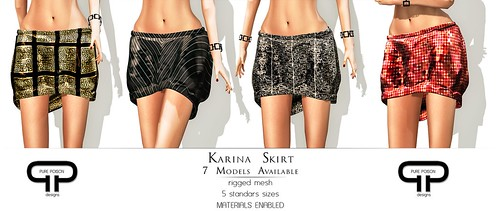 Pure Poison - Karina Skirts - 7 Models Available