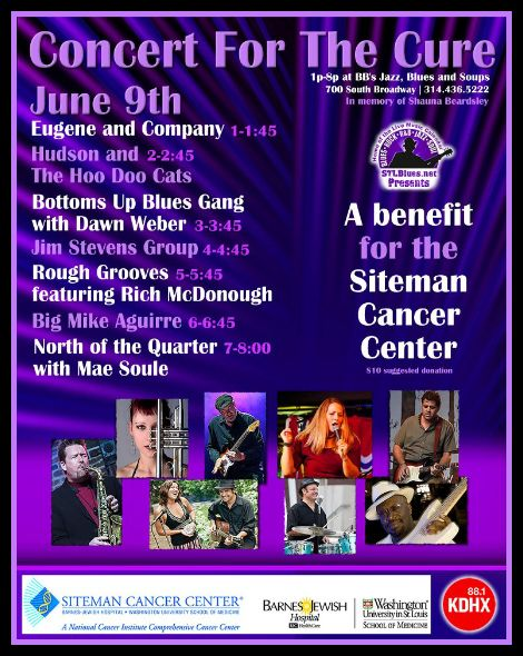 Concert For The Cure 6-9-13