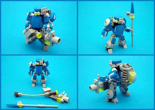 00009-Seneschal - Solar Union Peacekeeper Frame - Custom #1