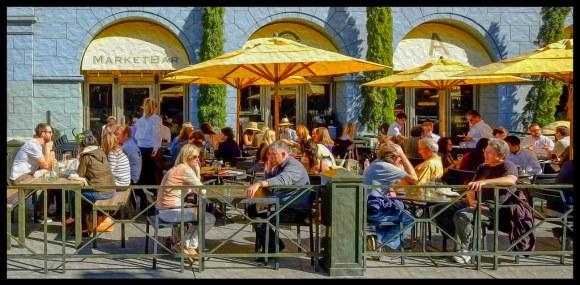 Lunch at MarketBar - San Francisco - 2013