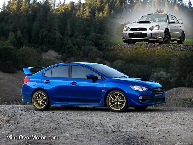 2015 Subaru WRX STI and 2004 Subaru WRX STi