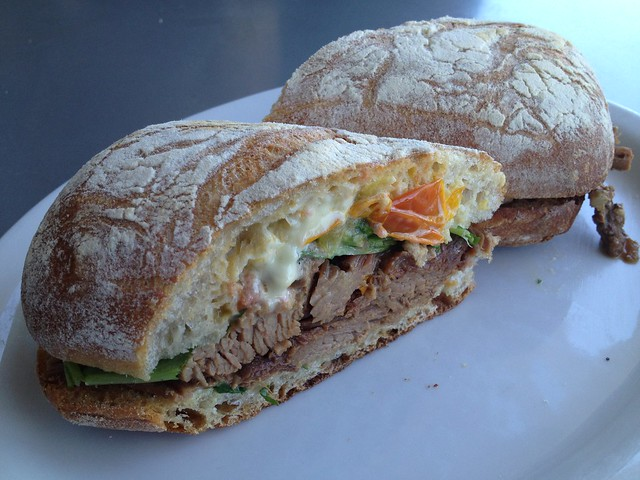 Beef brisket sandwich - Il Cane Rosso