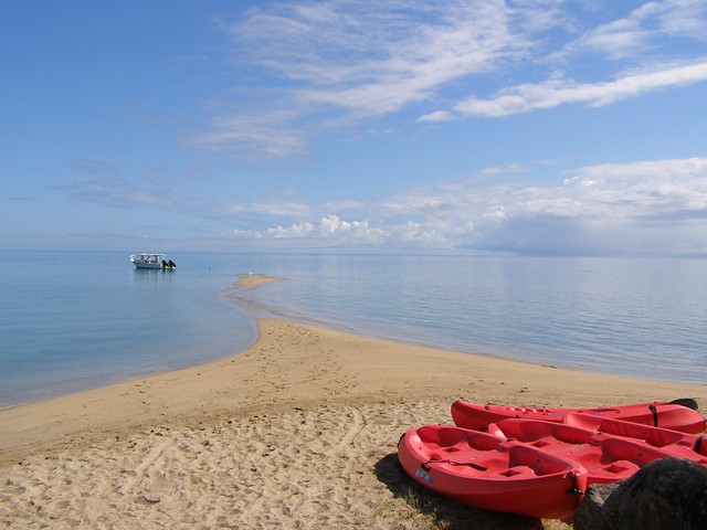 boats in Fiji