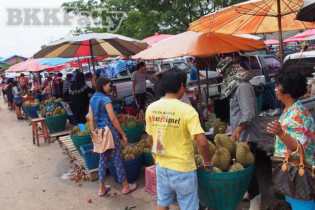 rayong wholesale cheap fruit market ตลาดผลไม้ตะพง