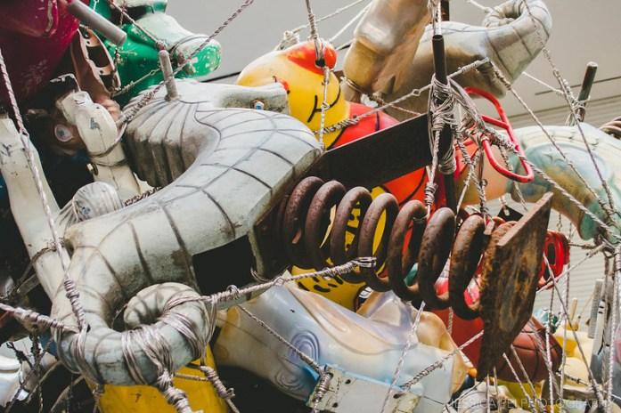 seahorse playground toy
