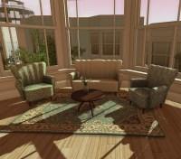 Glamorous Furniture//Dutchie Art Deco Living Room ...
