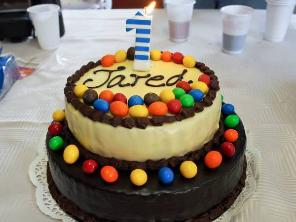 Jared 1st Birthday